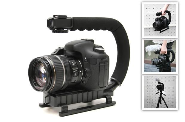 ムービー一眼、デジタルビデオカメラ用アクショングリップ AG-200